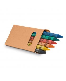 EAGLE. Caja con 6 lápices de cera - Imagen 1