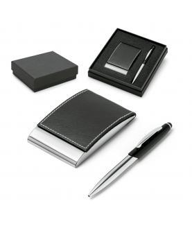 MURPHY. Set de bolígrafo y tarjetero - Imagen 1