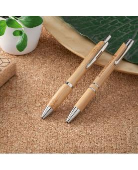 NICOLE. Bolígrafo de bambú - Imagen 2