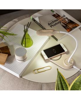 OZZEL. Lámpara de mesa con cargador inalámbrico (Rápido, 10W) - Imagen 3