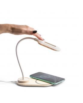 OZZEL. Lámpara de mesa con cargador inalámbrico (Rápido, 10W) - Imagen 5