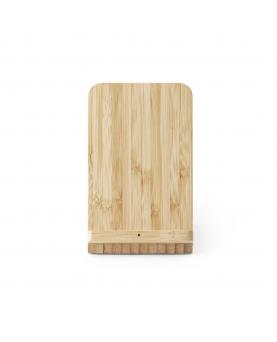 LEAVITT. Cargador de bambú inalámbrico - Imagen 2