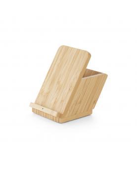 LEAVITT. Cargador de bambú inalámbrico - Imagen 3