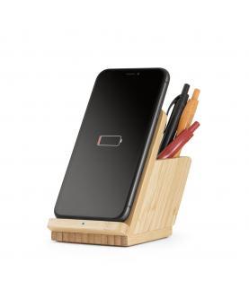 LEAVITT. Cargador de bambú inalámbrico - Imagen 6