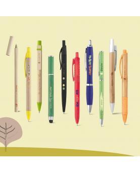 ORGANIC WRITING SHOWCASE. Showcase with 20 ECOlogic ball pens - Imagen 2
