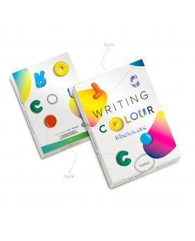 COLOUR WRITING SHOWCASE. Muestrario con 20 bolígrafos de colores - Imagen 1