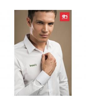 THC PARIS WH. Camisa de popelina para hombre - Imagen 2