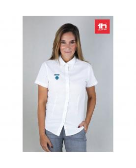 THC LONDON WOMEN WH. Camisa oxford para mujer - Imagen 2