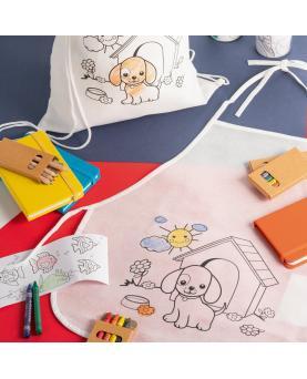 NILO. Delantal infantil para colorear - Imagen 6